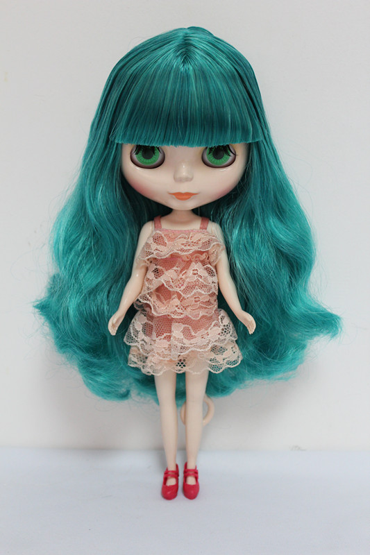 цена на Free Shipping big discount RBL-8 DIY Nude Blyth doll birthday gift for girl 4 colour big eyes dolls with beautiful Hair cute toy