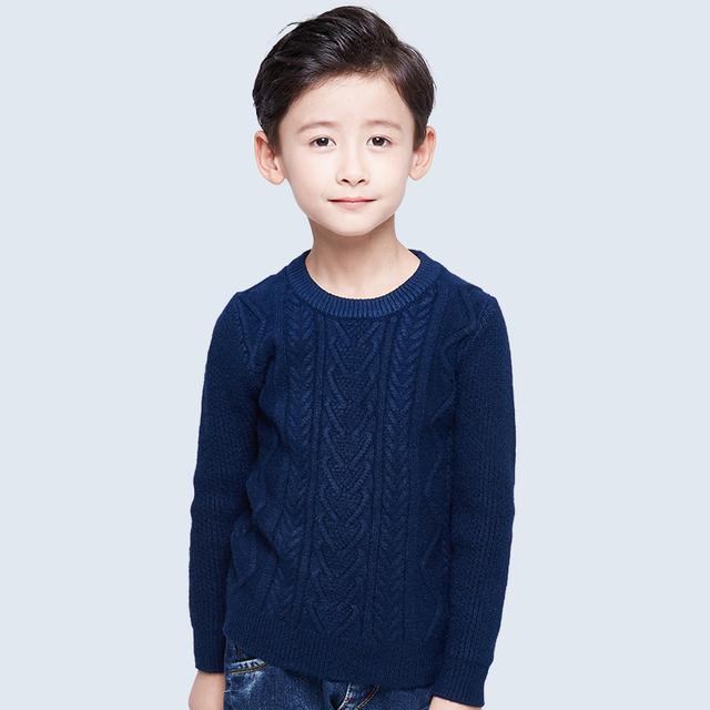 Pioneer Crianças 2016 novas crianças inverno meninos camisola do bebê outono/desgaste do inverno blusas quentes crianças pullovers outerwear camisola