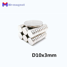 600pcs 10x3mm magnet 10x3 neodymium D10x3mm 10mmx3mm N35, permanent 10*3 D10*3mm