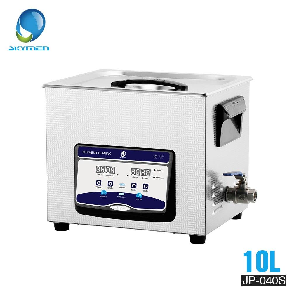 SKYMEN Nettoyeur À Ultrasons 10l 240 W 110/220 V à laver à ultrasons Pour Pipeline Optique verre Pièces de matériel médical Auto pièces