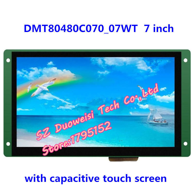 DMT80480C070_07WT Voice Serial capacitive touch screen 7 screen configuration interference splash waterDMT80480C070_07WT Voice Serial capacitive touch screen 7 screen configuration interference splash water