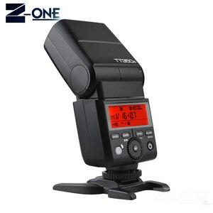 Image 4 - Мини вспышка Godox TT350 GN36, 2,4G, TTL HSS, Вспышка Speedlite + XPro X, трансмиттер, комплект триггеров для камер Canon, Nikon, Sony, Fuji, Olympus