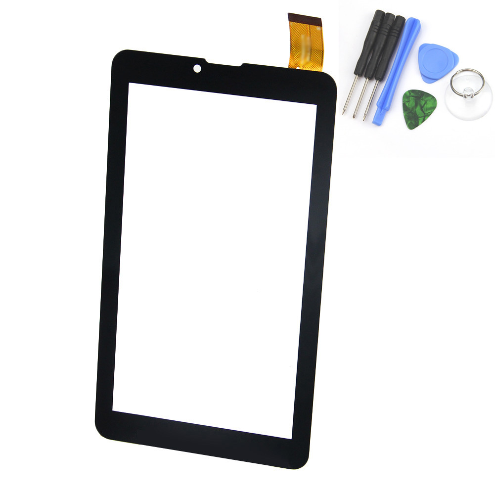 New 7 Inch Black/White Touch Screen for Supra M625G M722G M723G M725G M727G Glass Panel Sensor Digitizer Replacement 186*104mm new touch screen digitizer 7 inch supra m722g m723g m725g m727g 3g tablet touch panel glass sensor replacement free shipping