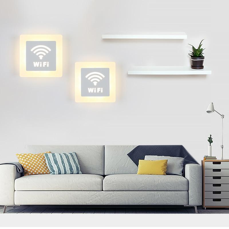 Modern LED Wall Lamp For Bathroom Bedroom 6W Wall Sconce White Indoor Lighting Lamp AC85-265V LED Wall Light Indoor Lighting стоимость