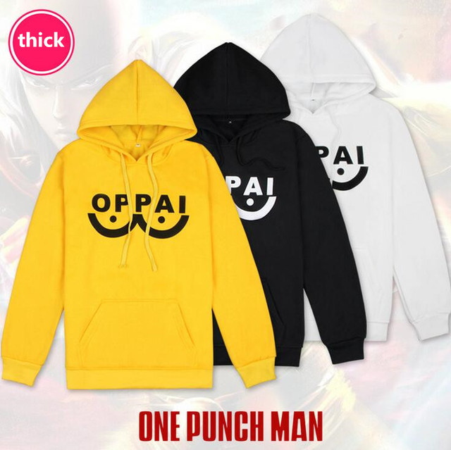 New Anime Manga ONE PUNCH MAN Hoodie Cosplay Clothes Sweater 01