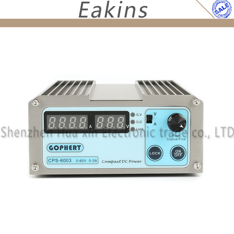 CPS-6003 мини высокой Мощность Цифровой DC Питание OVP/OCP/OTP 60 В 3A Регулируемая компактный лаборатории Питание 110 В-240 В