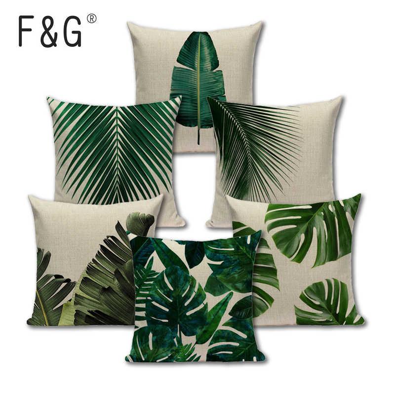 palm leaf cushion online