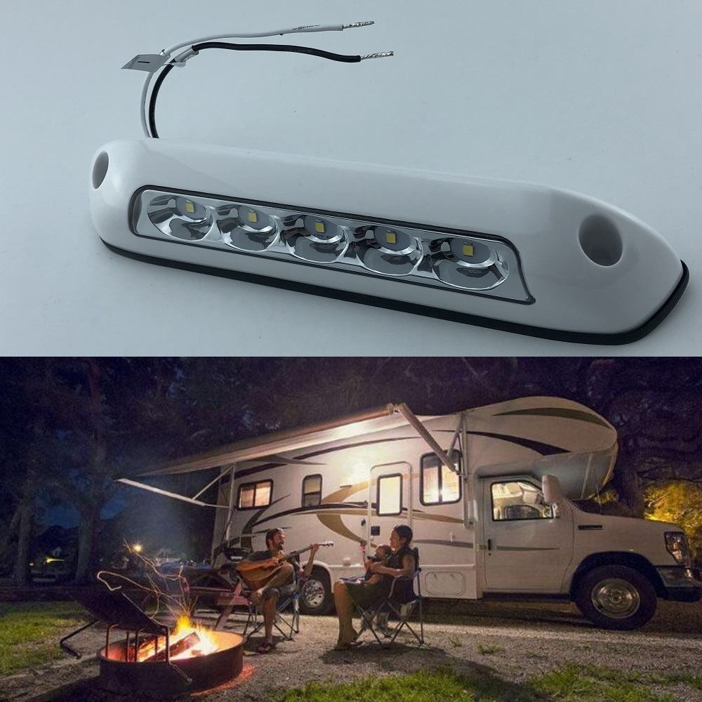 6500 k 12 v LED auvent lumières étanche RV Van Camping-car remorque robuste hors route Camping-car caravane extérieur Camping Bar lampes