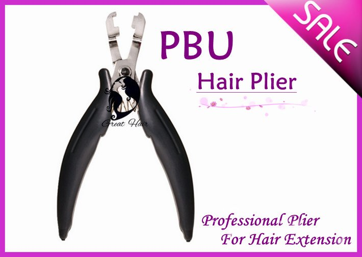 Wholesale-HOT SALE Hair Extension Plier PBU 10 pieces/ Lot, Free Shipping(China (Mainland))