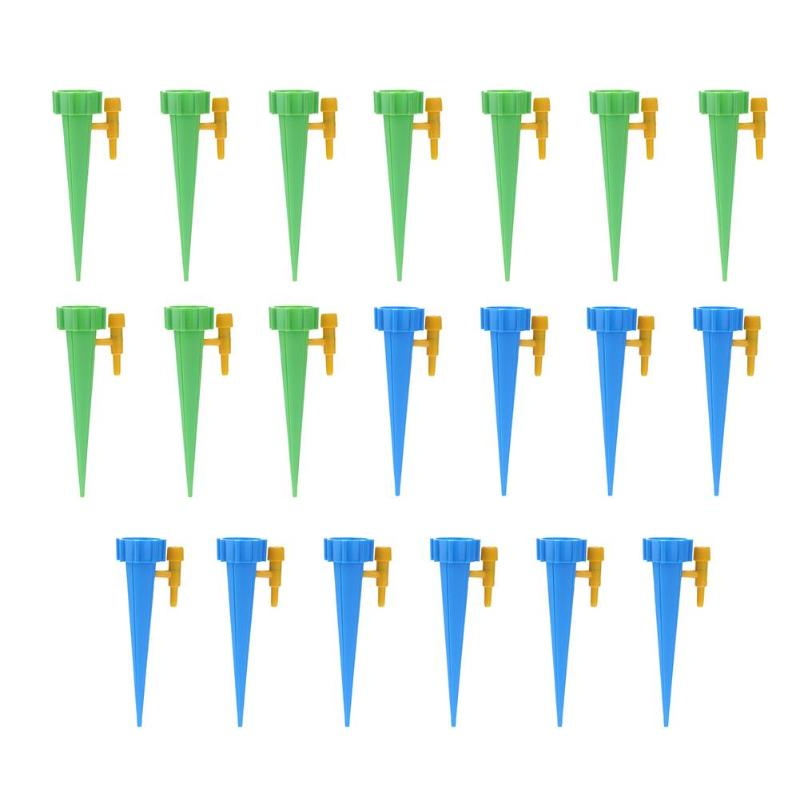 HTB1IP9.XdfvK1RjSspoq6zfNpXaG Auto Drip Irrigation Watering System Automatic Watering Spike for Plants Flower Indoor Household Waterers Bottle Drip Irrigation
