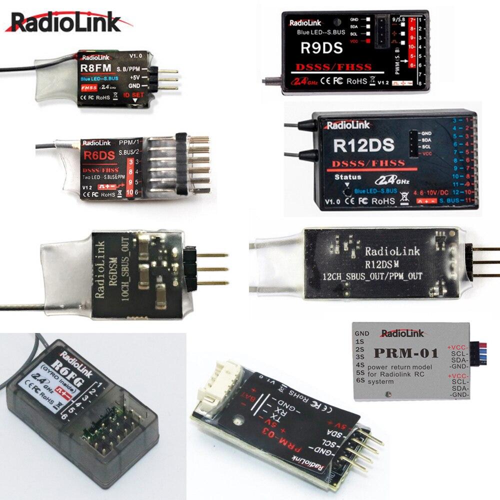 Radioenlace R12DSM R12DS R9DS R8FM R6DSM R6DS R6FG Rc receptor 2,4g señal transmisor RC