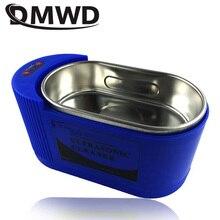DMWD ультразвуковой очиститель стерилизатор ультразвуковая волна стиральная нержавеющая сталь для ванной ювелирные изделия очки часы Чистящая машина 35 Вт/60 Вт