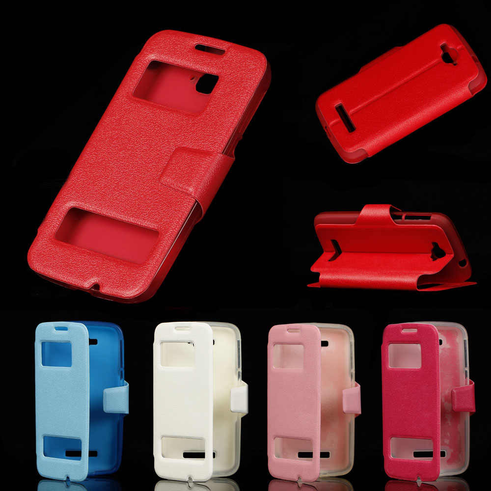 Alcatel One Touch POP C7 5.0For Case Para Alcatel One Touch POP OT C7 7040 7041 7040A 7040D 7041D Celular aleta Da Tampa Do Caso do telefone