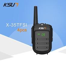 4 PCS KSUN X 35TFSI Walkie Talkie 8W Handheld Pofung UHF 8W 400 470MHz 128CH Two
