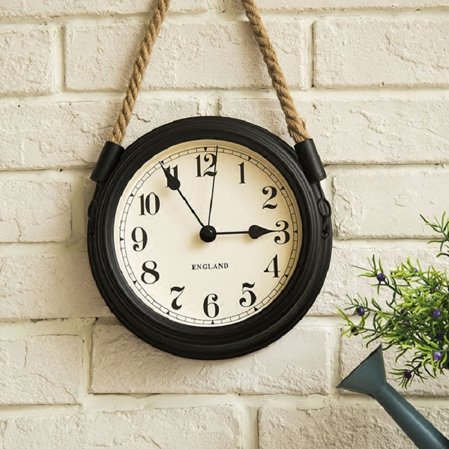 8 inches round wall clock saat reloj relogio de parede modern simple mute bedroom clock living - Bedroom Clock