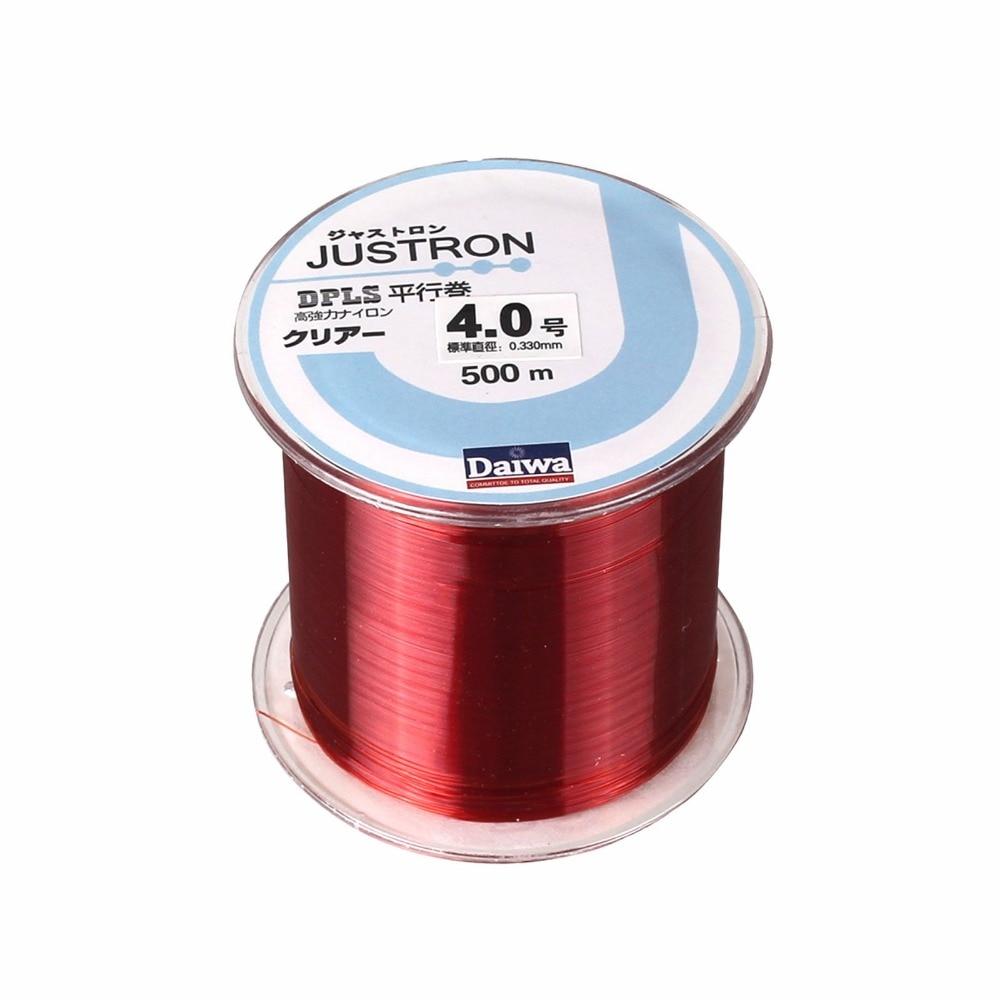 Dndyuju 500m nylon fishing line japanese durable for Nylon fishing line