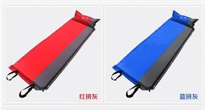 Image 5 - 2020 Hot sale (170+25)*65*5cm single person automatic inflatable mattress outdoor camping fishing beach mat on sale/ wholesale