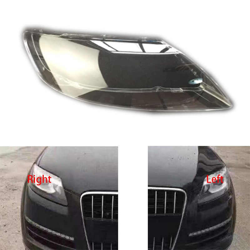 1pcs Front Headlights Headlights Glass Mask Lamp Cover