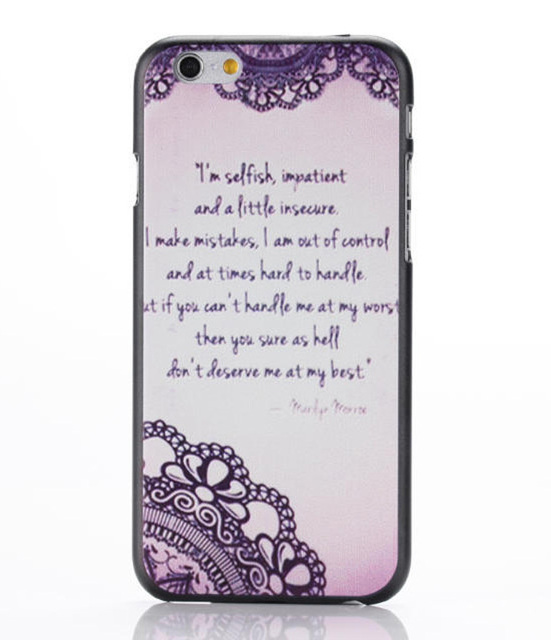 iphone 7 case poem