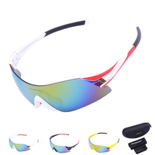 HOT Sale Rimless UV400 Cycling Glasses Outdoor Sport Bicycle Glasses Motorcycle Sunglasses Eyewear Frameless Racing Goggles