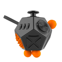 12 Side Sided Magic Fidget Cube Desk Toy Stress Anxiety Relief Anti Focus Puzzle Toys EDC