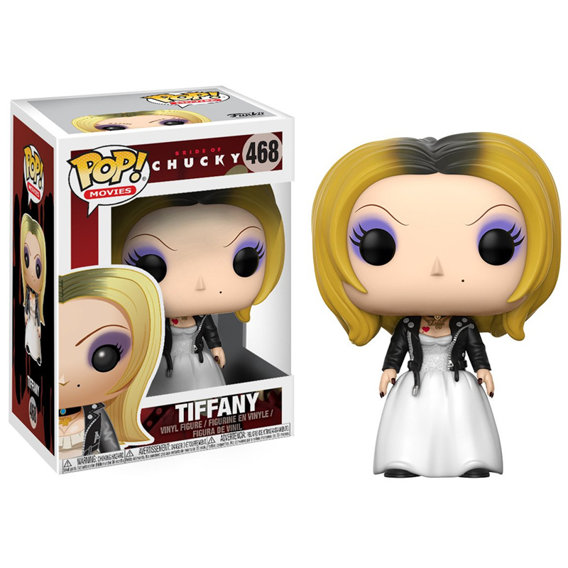 Funko POP Chucky Bride Of Chucky Limited Vinyl Action Figures Movie Character Collection Model Toys For Children Birthday Gifts