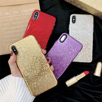 NEW Fashion 2018 Lipstick Rouge Red Color Soft Silicone Mobile Phone Cases For iPhoneX 10 8 8Plus 7 7Plus 6 6S 6Plus Back Covers