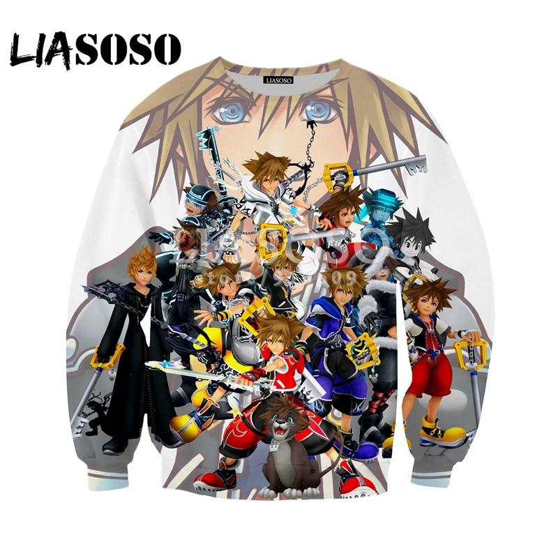 LIASOSO NEUE Spiel Kingdom Hearts Lustige Kühlen 3D Print t shirt ...