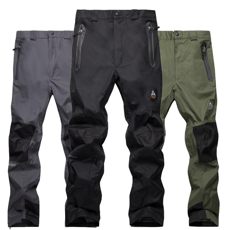 Лыжные брюки мужские женские лыжные брюки теплые ветрозащитные непромокаемые снежные сноубордические брюки уличные зимние походные брюки