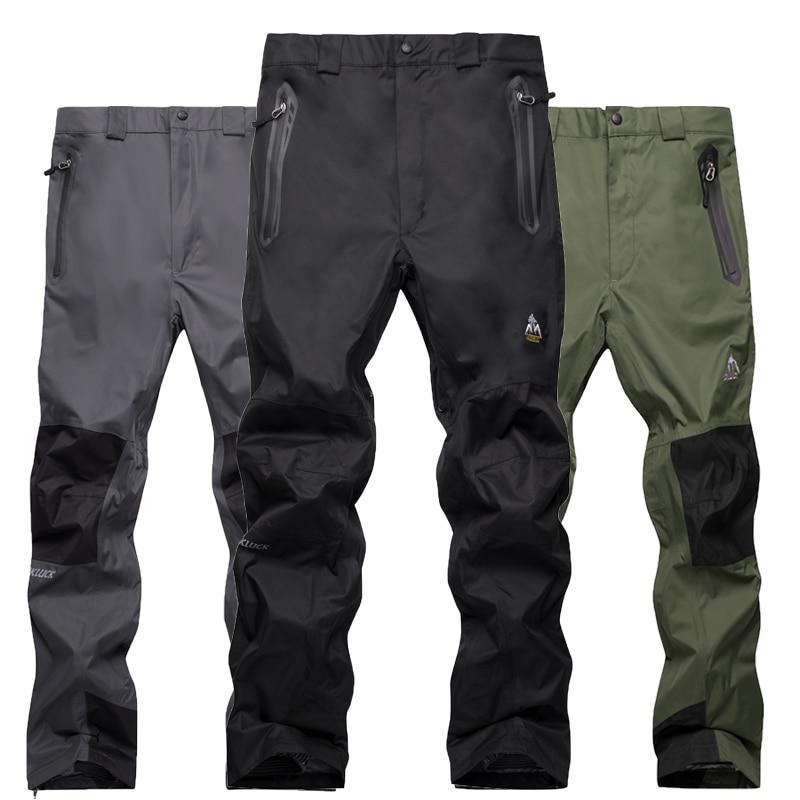 Skiing Pants Men Women Ski Pants Warm Windproof Waterproof Snow Snowboarding Pants Outdoor Winter Hiking Pants Trousers