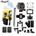 Chegada nova Ultra HD 4 K Câmera de Ação Câmera de Esportes 30 m À Prova D' Água 2.0 ''Tela 2.4G Remoto Sem Fio controle de Câmera DV LSc3132