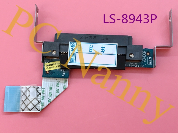 Genuine For Acer C710 hdd board Hdd Connector C710 ls-8943p w/ ribbon