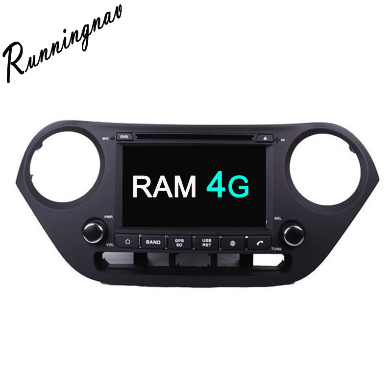 Android 8.0 Octa Core PX5/PX3 Fit HYUNDAI i10 2013 2014 2015 2016 Car DVD Player Navigation GPS Radio