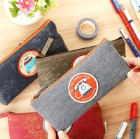 Wholesale study stationery new arrival fashion cute retro Old Object III series pencil Pencil bag.Cute clean up bag.retail great