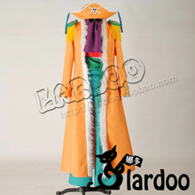 One Piece Buggy cosplay uniform Costume full set with hat