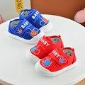 Baby Shoes Мальчики и девочки Мультфильм Печатных Микки Маус pattern Anti-slip Младенческой Мягкой Подошвой Prewalker