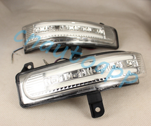 Car Rearview Mirror LED Side Turn signals Running Light  Door Step Ground Lamp For Mazda 5 / Mazda 8 / CX7  2013-2015