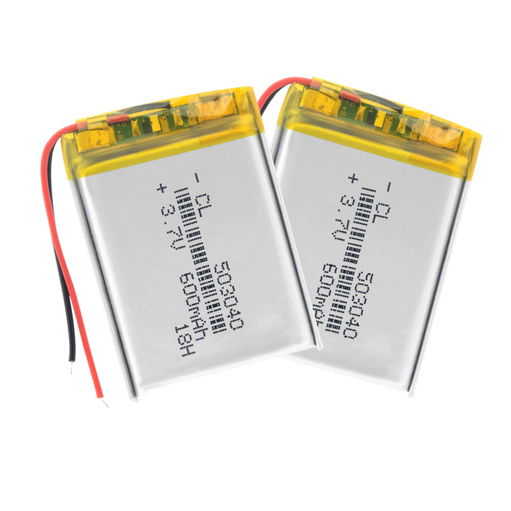 3.7V 300mAh LiPo Rechargeable 303040 Battery For Bluetooth Headsets GPS Toys