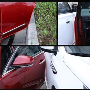 Image 5 - Universal 10 M Scratch Protetor de Borda Da Porta de Carro Tira de Vedação Guarnição Guarda Protetor de Porta Adesivos Decoração do Automóvel Do Carro styling