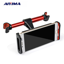 AIYIMA 4-12 inch Car Mobile Phone Holder Adjustable Rotation Tablet Phone Stand Bracket Mount for iPad iPhone xiaomi Samsung