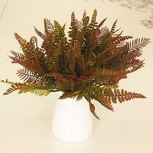 Высокое Моделирование искусственного растения яркий персидский украшение из травы для свадьбы дома вечерние UEJ