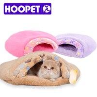Hoopet熱い販売1ピースペット製品暖かいソフト猫ハウスペット寝袋素敵なハンバーガー犬小屋ペットベッドサイズs/m # k