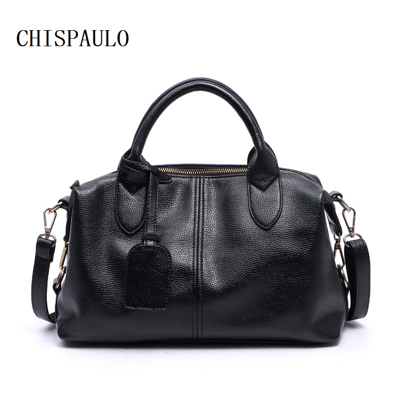 d5b887c2be6e CHISPAULO Women Bag Vintage Leather Famous Brand bag ladies designer  handbags high quality Retro Bag bags for women Designer X63