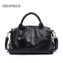 CHISPAULO Femmes Sac Vintage En Cuir Célèbre Marque sac à main de dames sacs à main de haute qualité Rétro Sac sacs pour femmes Designer X63