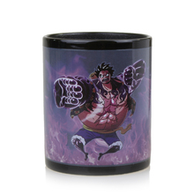 Luffy Zoro Ace Gear Fourth Changing Color Coffee Cup Mug