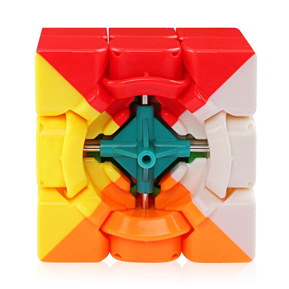 cubo de velocidade 3x3 stickerless moyu weilong 04