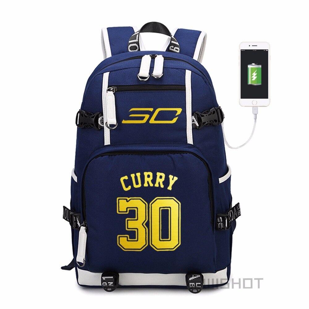 Wishot  Backpack Teenagers Men Women's Student School Bags Travel Shoulder Laptop Bags  Multifunction Usb Charging #3