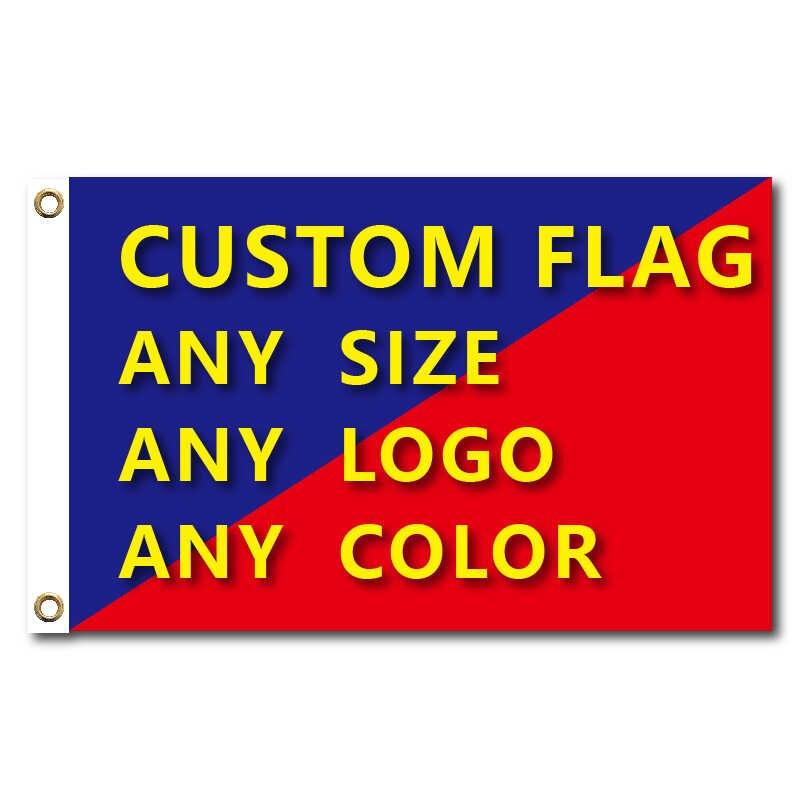 أعلام ورايات الرسم مخصص مطبوعة العلم مع غطاء رمح الحلقات النحاسية تصميم مجاني في الهواء الطلق لافتة إعلانات الديكور