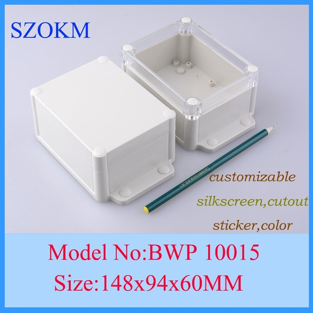 4 pcs/lot electronic housing instrument small plastic project box ...