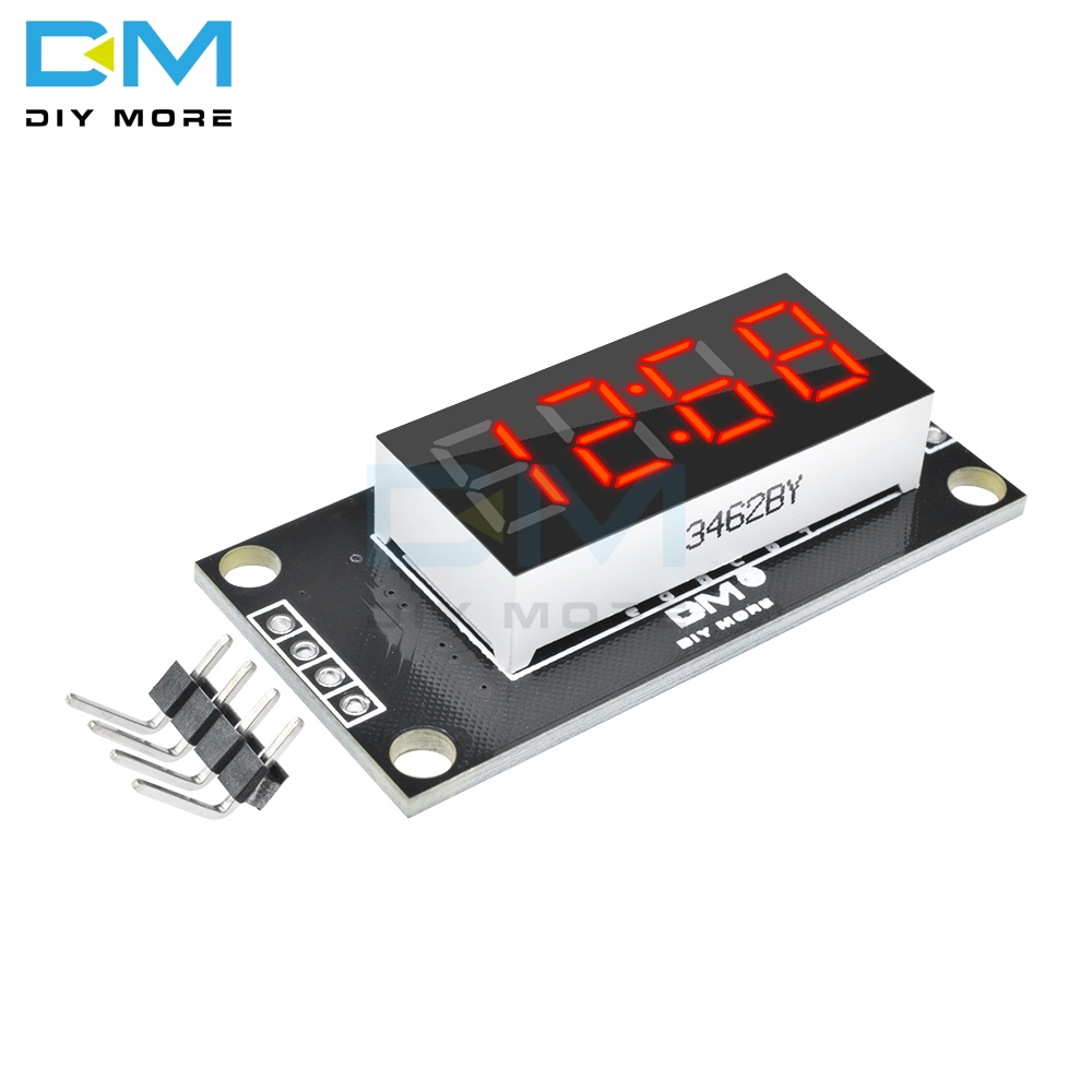 TM1637 4 Bits Digital Tube LED Display Module With Clock Display Timekeeper Module 7-segment Display